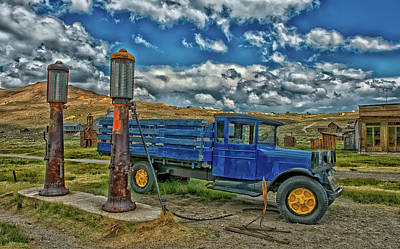 Photograph - Vintage Truck In Bodie Ghost Town by Mountain Dreams