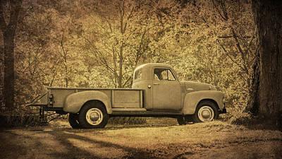 Photograph - Vintage Truck by Susan McMenamin
