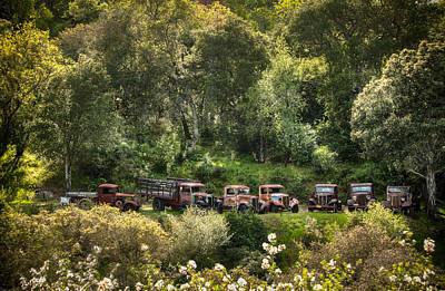 Photograph - Vintage Vehicles In The Spring by Connie Cooper-Edwards
