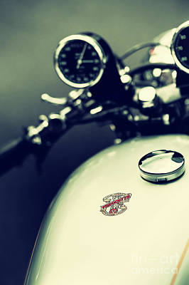 Photograph - Vintage Velocette Venom by Tim Gainey