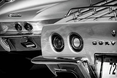 Photograph - Vintage Vettes by Dennis Hedberg