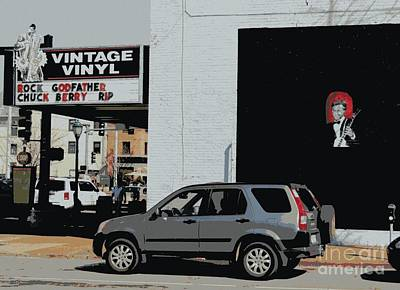 Photograph - Vintage Vinyl Pays Tribute by Kelly Awad