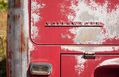 Photograph - Vintage Volkwagen Emblem by Marilyn Hunt