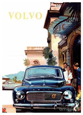 Advertisement Photograph - Vintage Volvo Advertisement by Jon Neidert