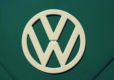 Photograph - Vintage Vw by Laurie Perry
