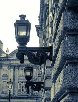 Photograph - Vintage Wall Decorative Street Lamp by Jacek Wojnarowski