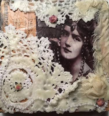 Mixed Media - Vintage Whimsy by Diana Riukas