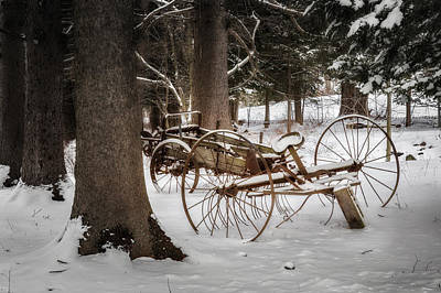 Photograph - Vintage Winter by Bill Wakeley