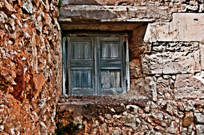 Photograph - Vintage Wood Window  by Pedro Cardona