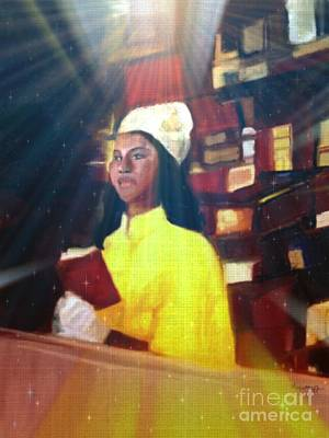 Mixed Media - Vintage Worship by Vannetta Ferguson