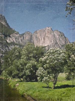 Vintage Yosemite Art Print by Teresa Mucha