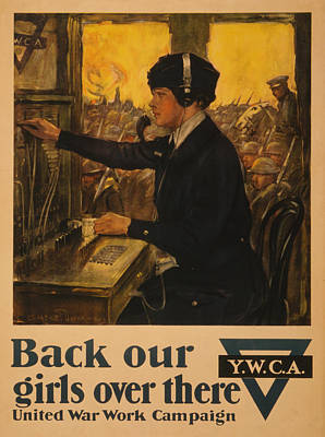 Painting - Vintage Ywca by Vintage Pix