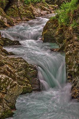 Photograph - Vintgar Gorge Rapids #2 - Slovenia by Stuart Litoff