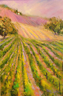 Vintners Delight Art Print by Sally Seago