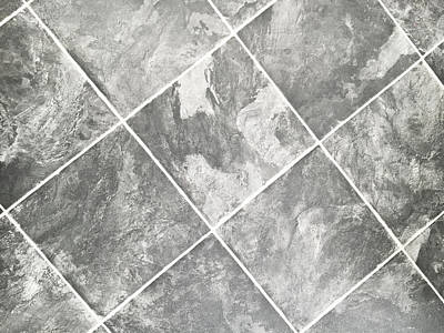 Linoleum Photograph - Viny Tiles by Tom Gowanlock