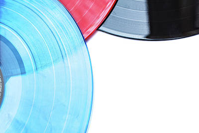 Photograph - Vinyl Records by Jingjits Photography