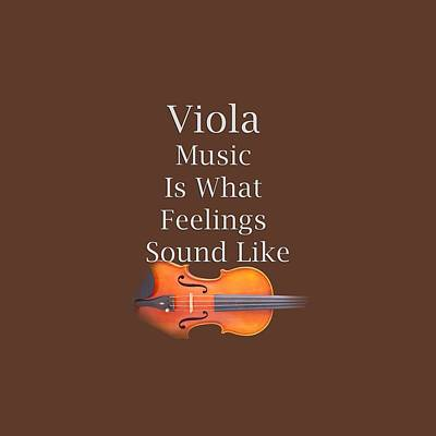 Photograph - Viola Is What Feelings Sound Like 5591.02 by M K Miller