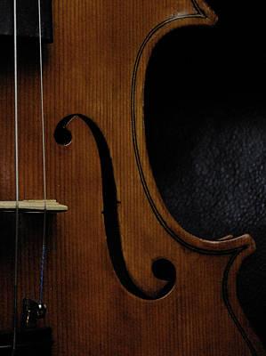 Viola No1 Half B Art Print by Joseph Duba