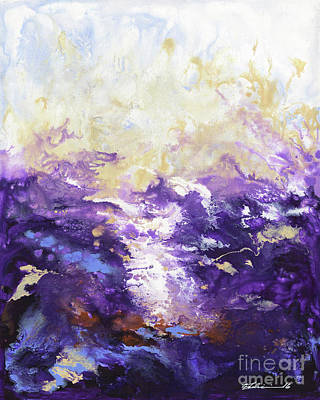 Painting - Violaceous by Elena Feliciano