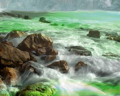 Photograph - Violent Ocean by Ericamaxine Price