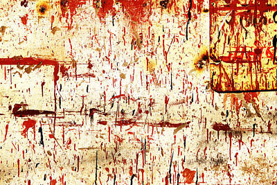 Violent Red Art Print