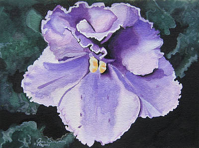 Painting - Violet 2 by Jean Sumption