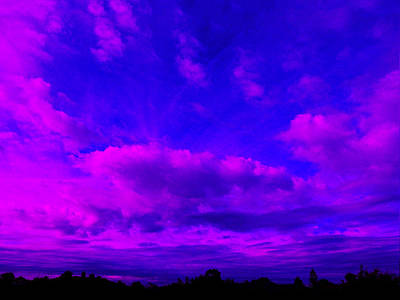 Photograph - Violet Dawn by Mark Blauhoefer