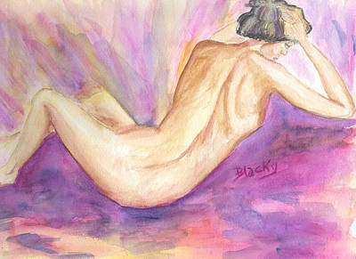 Painting - Violet by Donna Blackhall