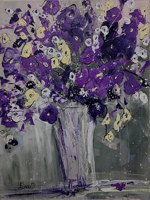 Painting - Violet Expressions by Terri Einer