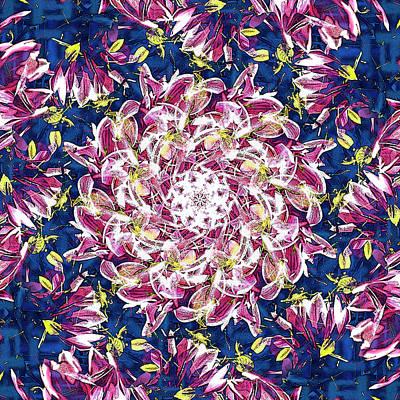 Digital Art - Violet Galaxy by Frans Blok
