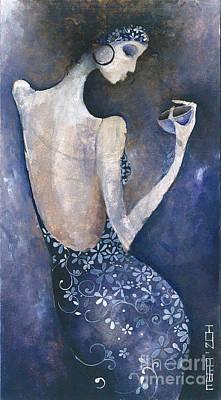 Painting - Violet Inspiration by Maya Manolova