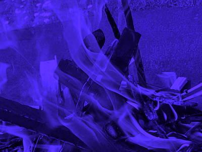 Violet Shine I I Art Print