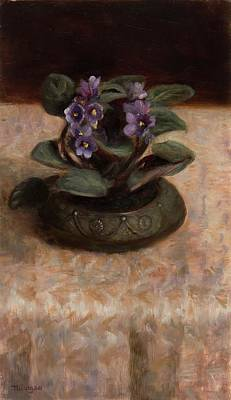 Painting - Violet by Thimgan Hayden