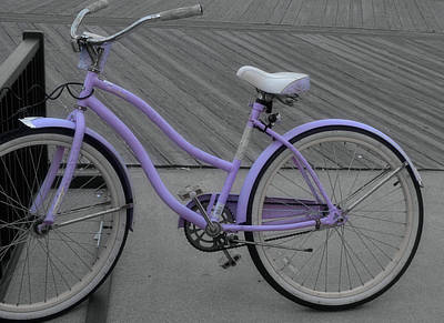 Photograph - Violet Velocipede by JAMART Photography