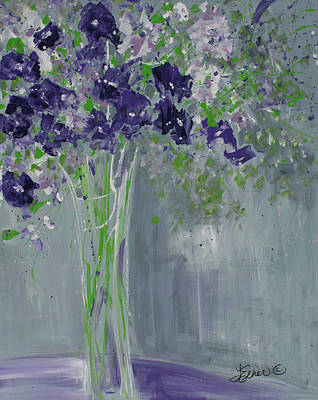 Painting - Violet Whispers by Terri Einer