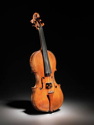 Photograph - Violin 021317 by Rospotte Photography