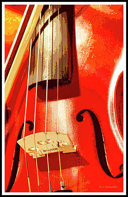 Photograph - Violin by A Gurmankin