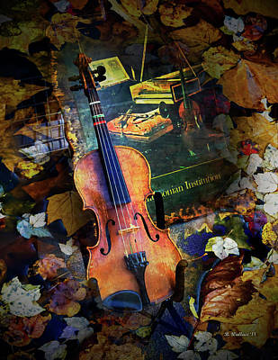 Mixed Media - Violin by Brian Wallace