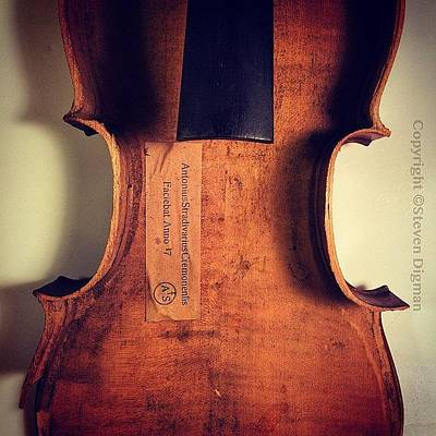Violin Wall Art - Photograph -  Beauty On The Inside  by Steven Digman
