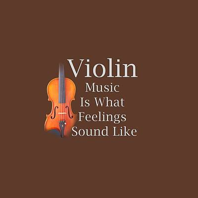 Photograph - Violin Is What Feelings Sound Like 5589.02 by M K Miller