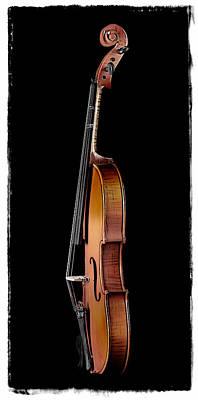 Studio Photograph - Violin Profile 2 by Patrick Chuprina