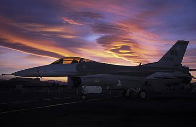 Photograph - Viper Sunset by John Clark