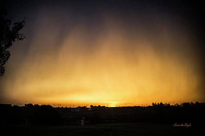 Photograph - Virga And Sunrise by Karen Slagle