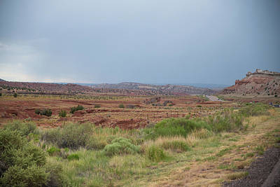 Photograph - Virga On The Mesa by Tom Cochran