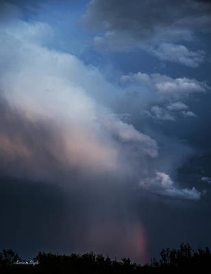 Photograph - Virga Rainbow by Karen Slagle