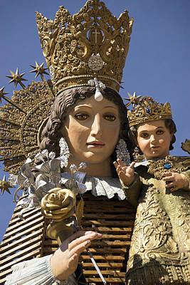 Virgen De Los Desamparados Art Print