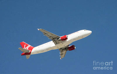 Photograph - Virgin Airlines by Louise Magno