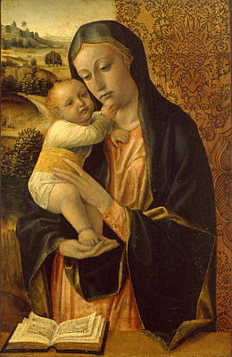 Vincenzo Foppa Painting - Virgin And Child 2 by Vincenzo Foppa