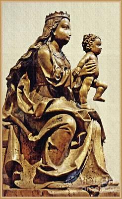 Photograph - Virgin And Child Bavarian by Sarah Loft