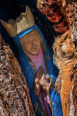 Photograph - Virgin De Guadalupe by Tom Singleton